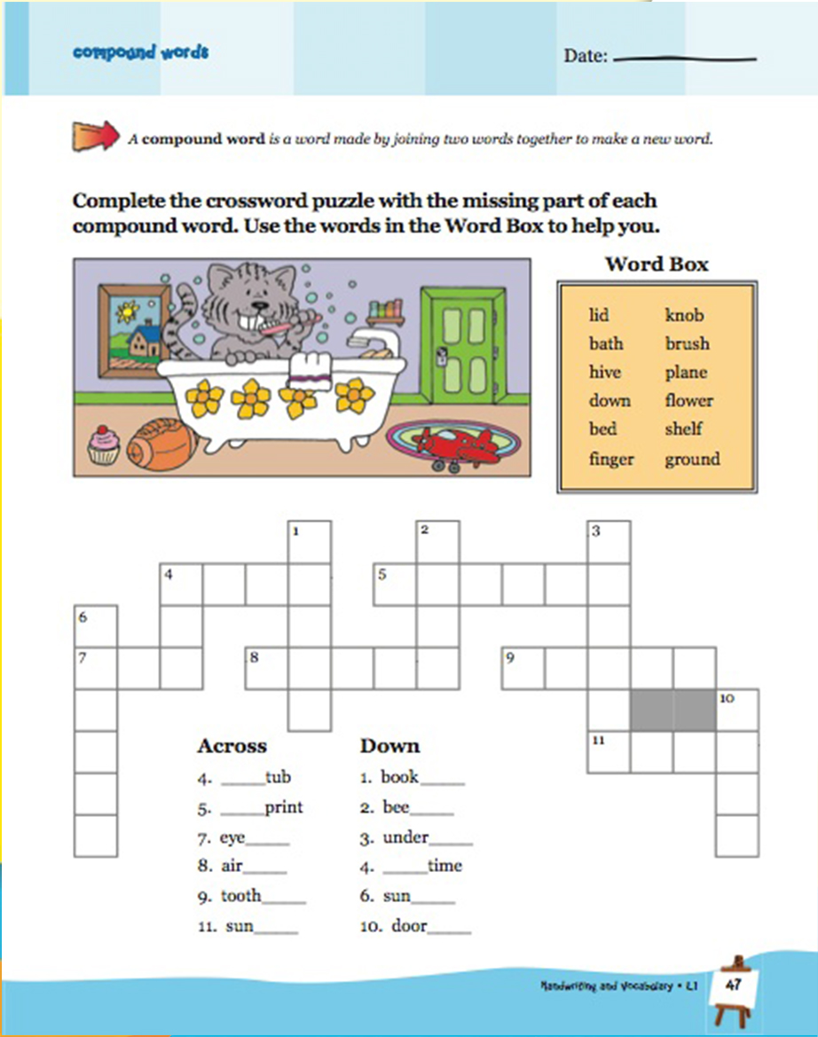 Scholastic Learning Express Handwriting and Vocabulary 1