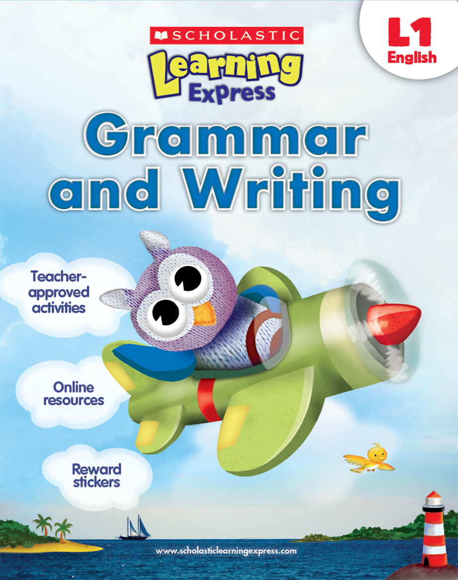 Scholastic Learning Express Grammar and Writing 1