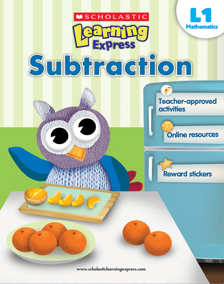 Scholastic Learning Express Subtraction 1