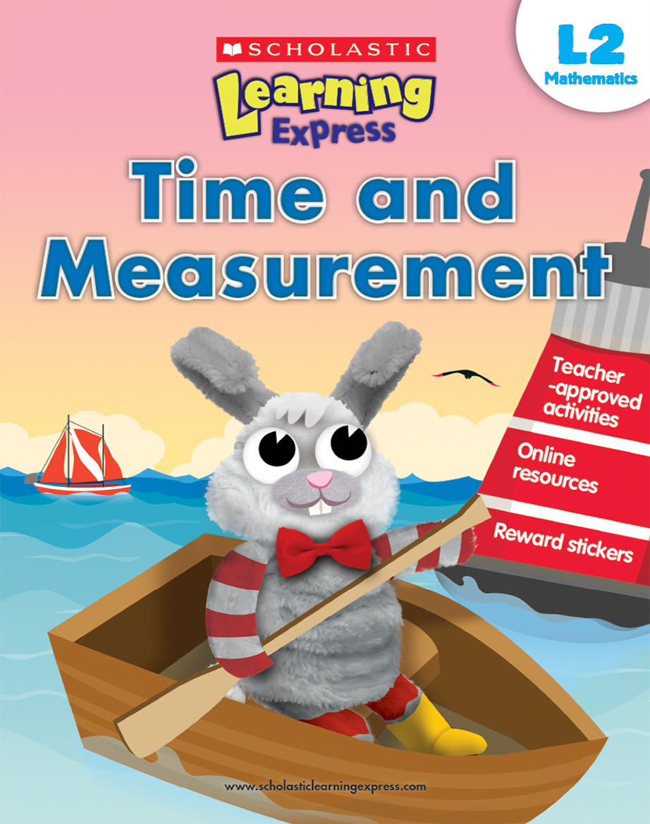 Scholastic Learning Express Time and Measurement 2