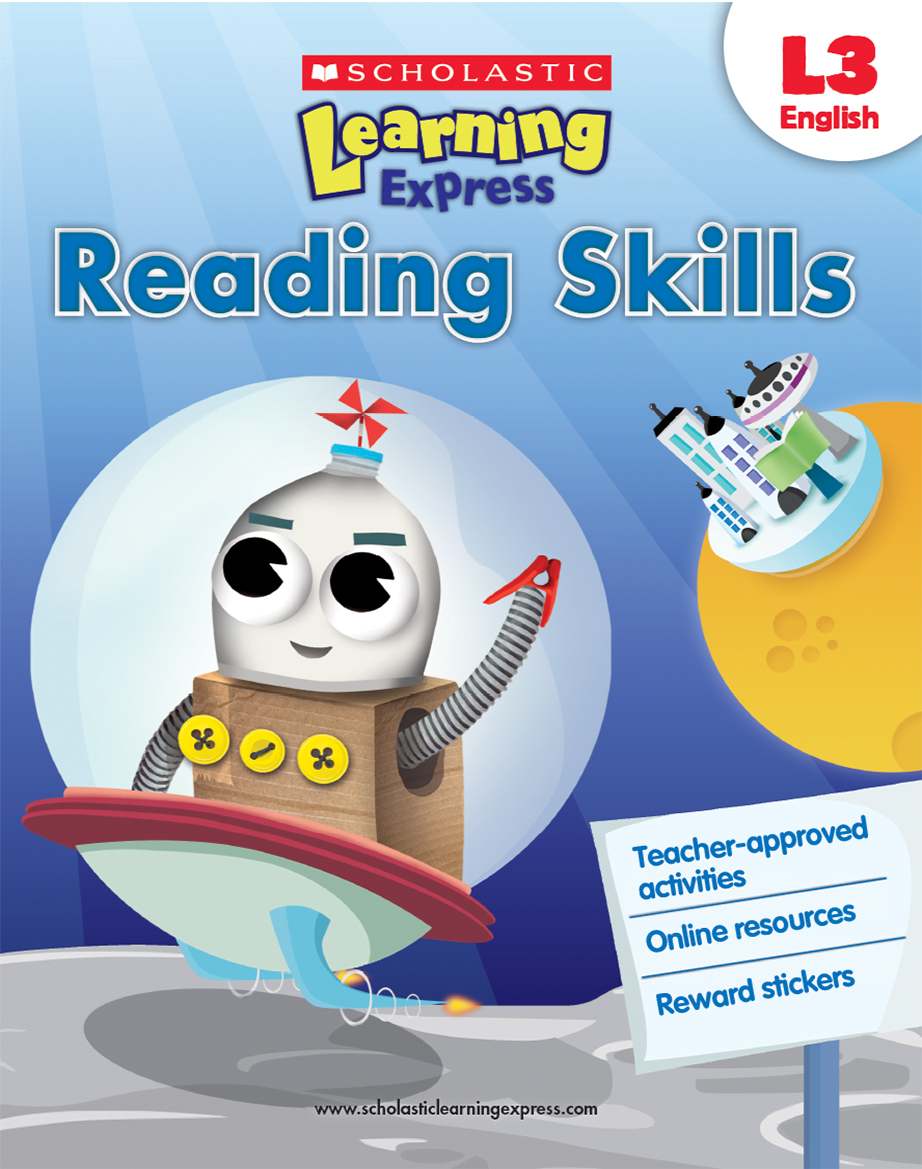 Scholastic Learning Express Reading Skills 3