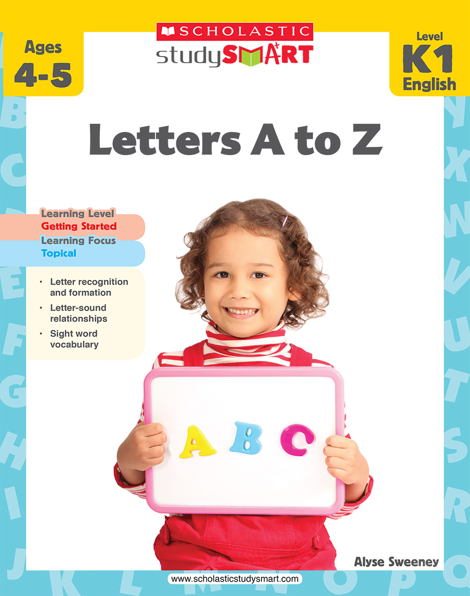 Scholastic Study Smart Letters A to Z K1