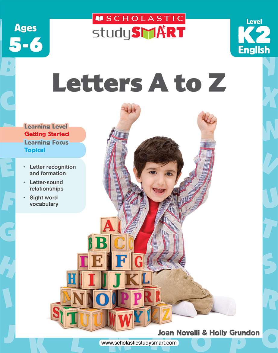 Scholastic Study Smart Letters A to Z K2