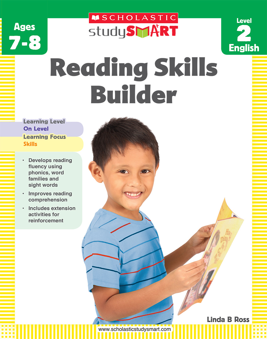 Scholastic Study Smart Reading Skills Builder 2