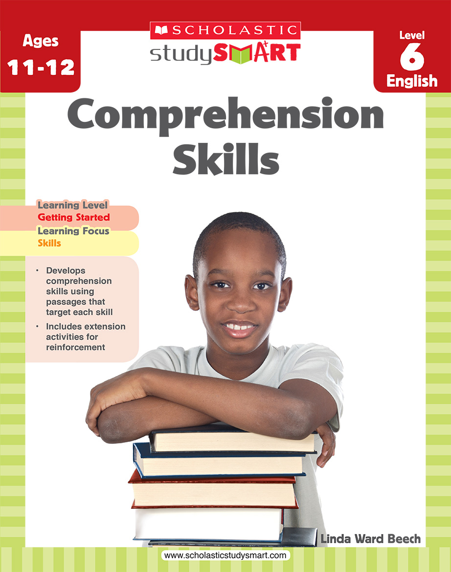 Scholastic Study Smart Comprehension Skills L6