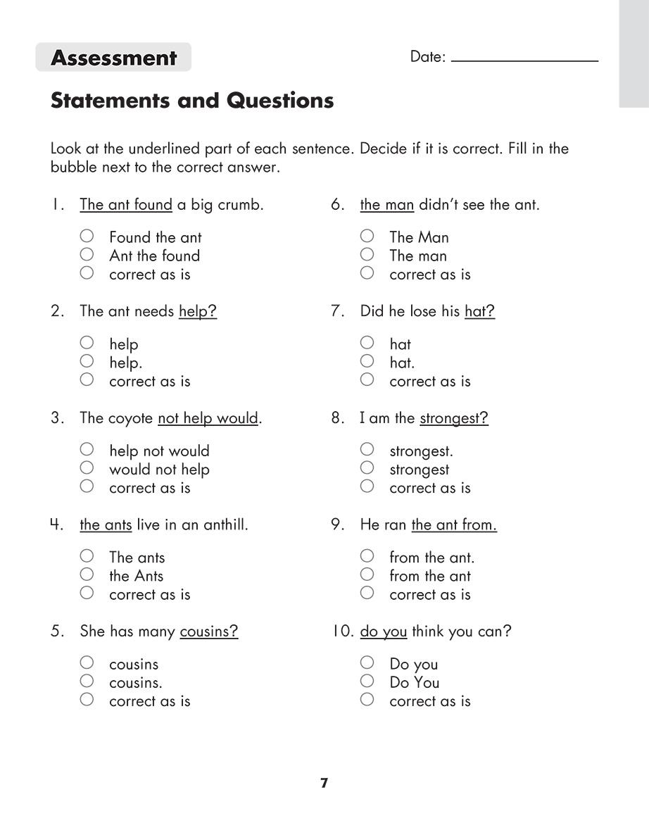 Scholastic Study Smart Grammar Builder 3