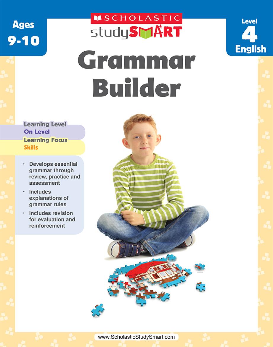 Scholastic Study Smart Grammar Builder 4
