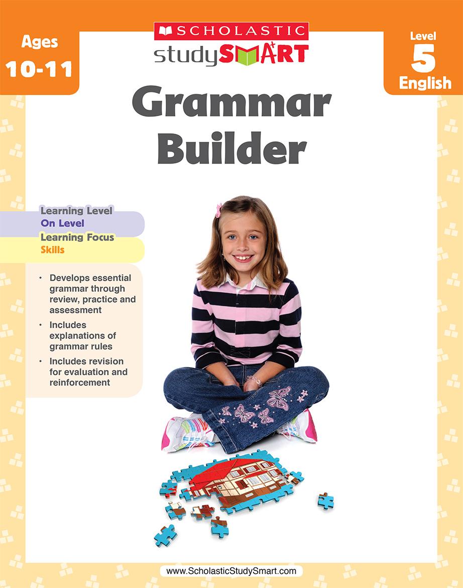 Scholastic Study Smart Grammar Builder 5