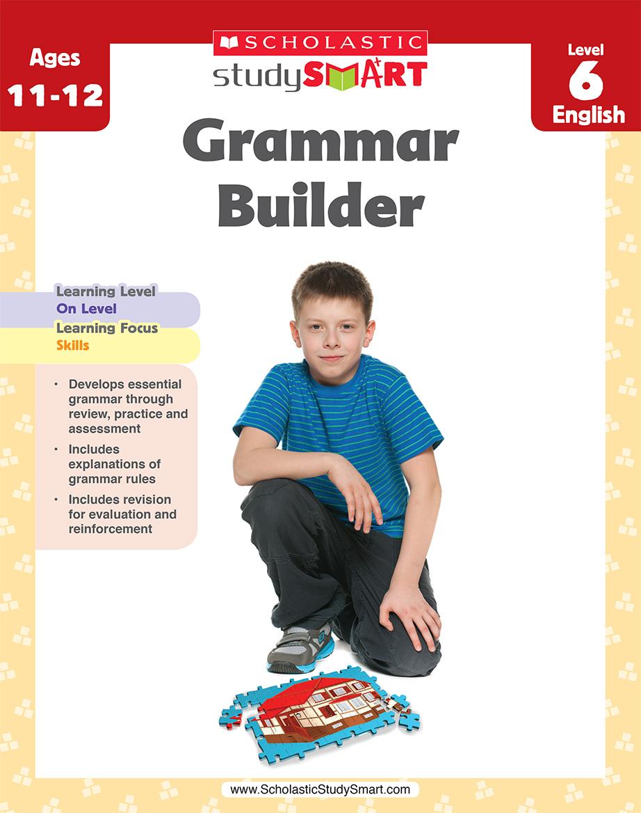 Scholastic Study Smart Grammar Builder 6