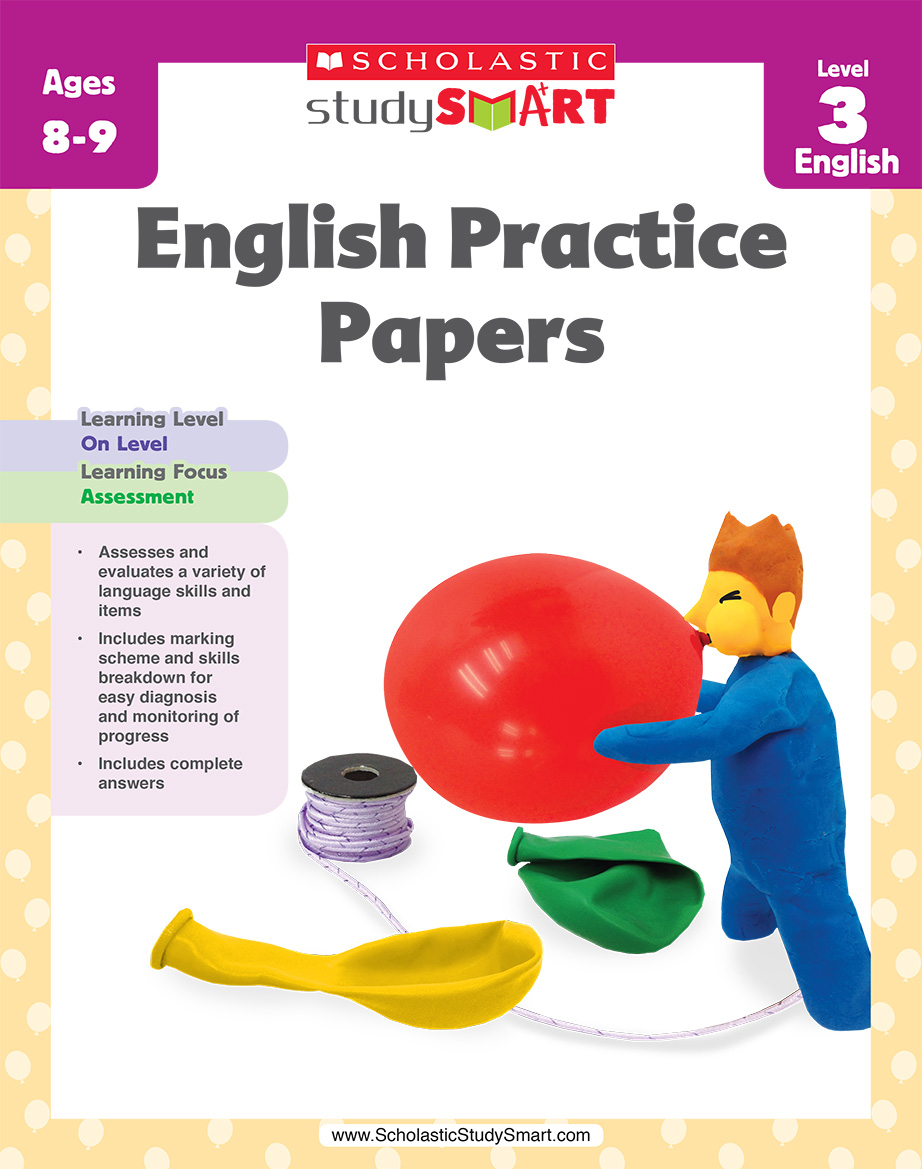 Scholastic Study Smart English Practice Papers 3