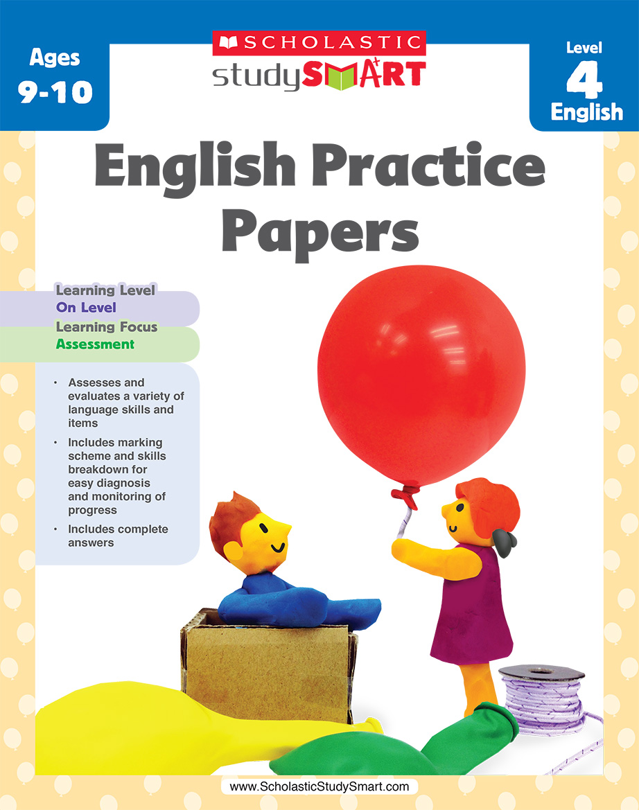 Scholastic Study Smart English Practice Papers 4