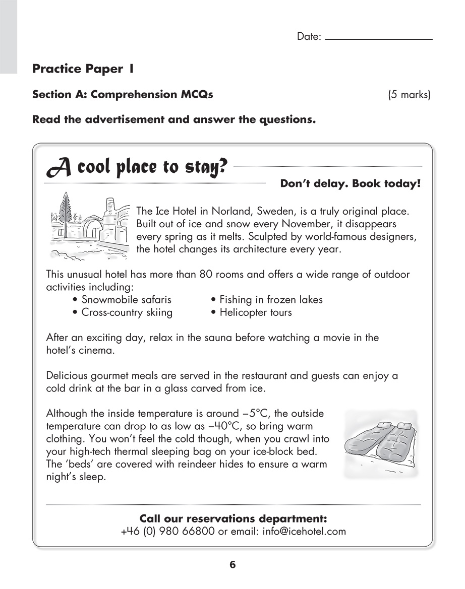 Scholastic Study Smart English Practice Papers 5