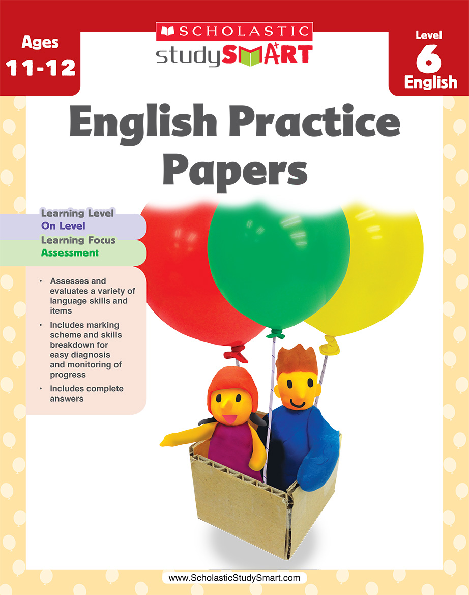 Scholastic Study Smart English Practice Papers 6