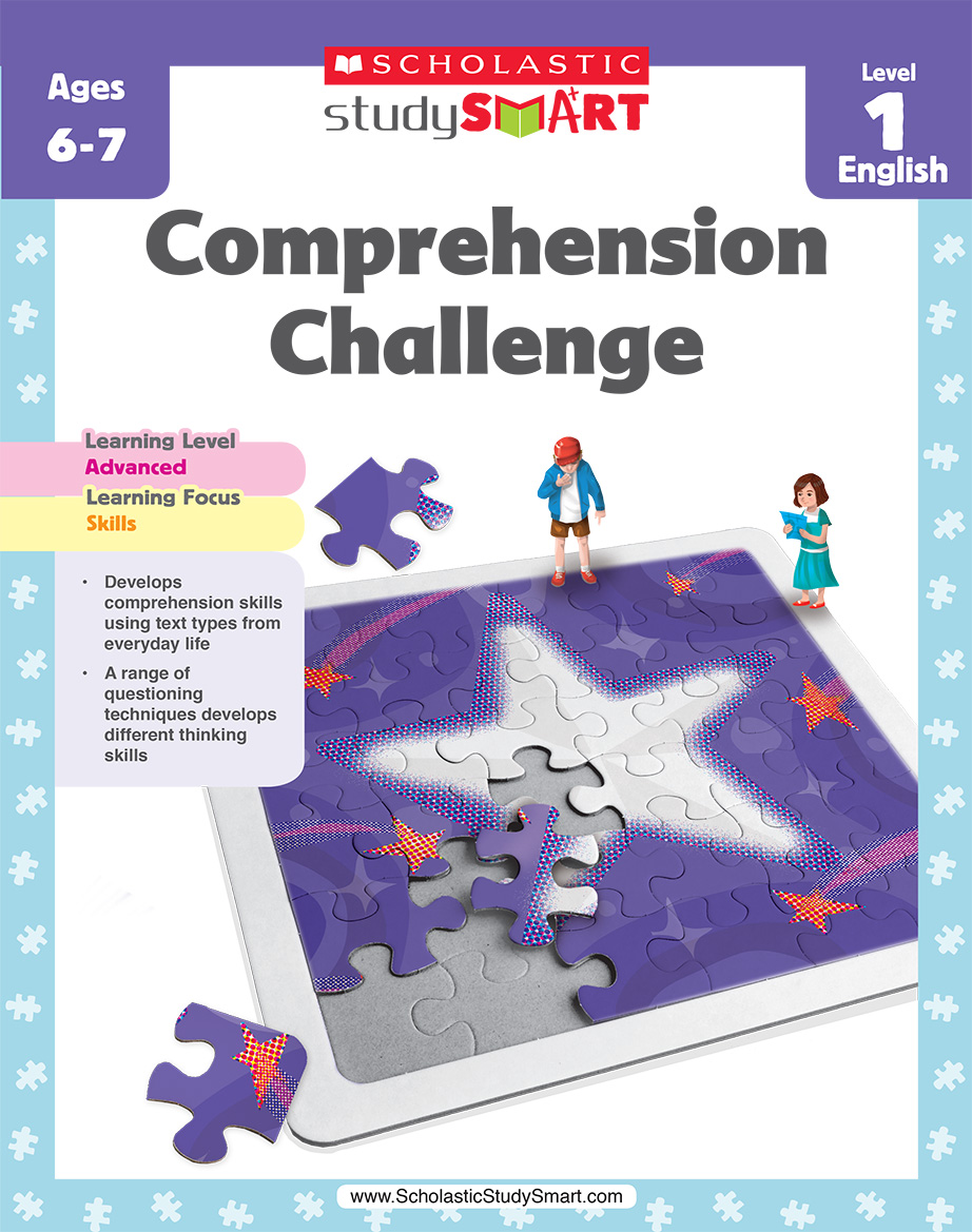 Scholastic Study Smart Comprehension Challenge 1