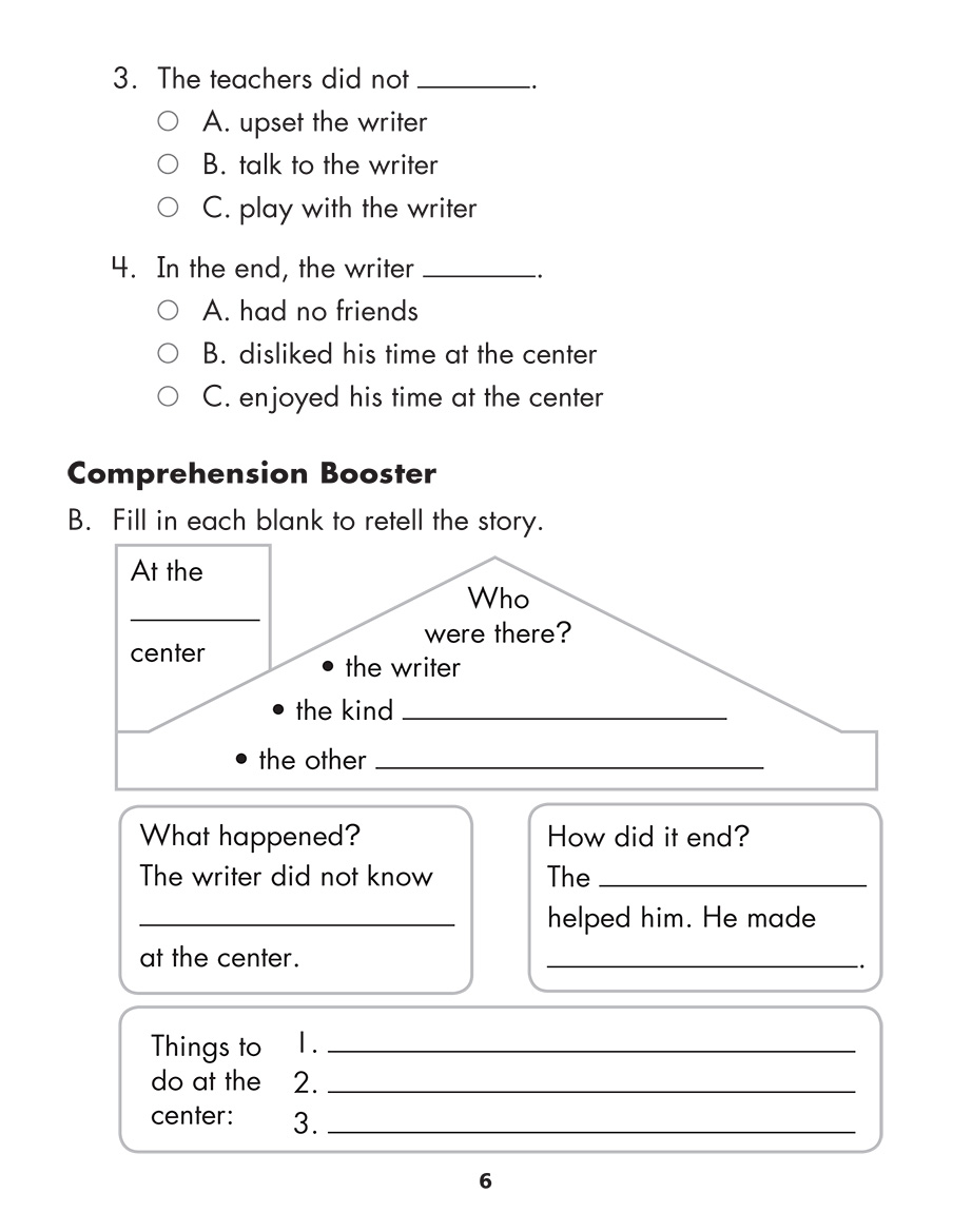Scholastic Study Smart Comprehension Challenge 2
