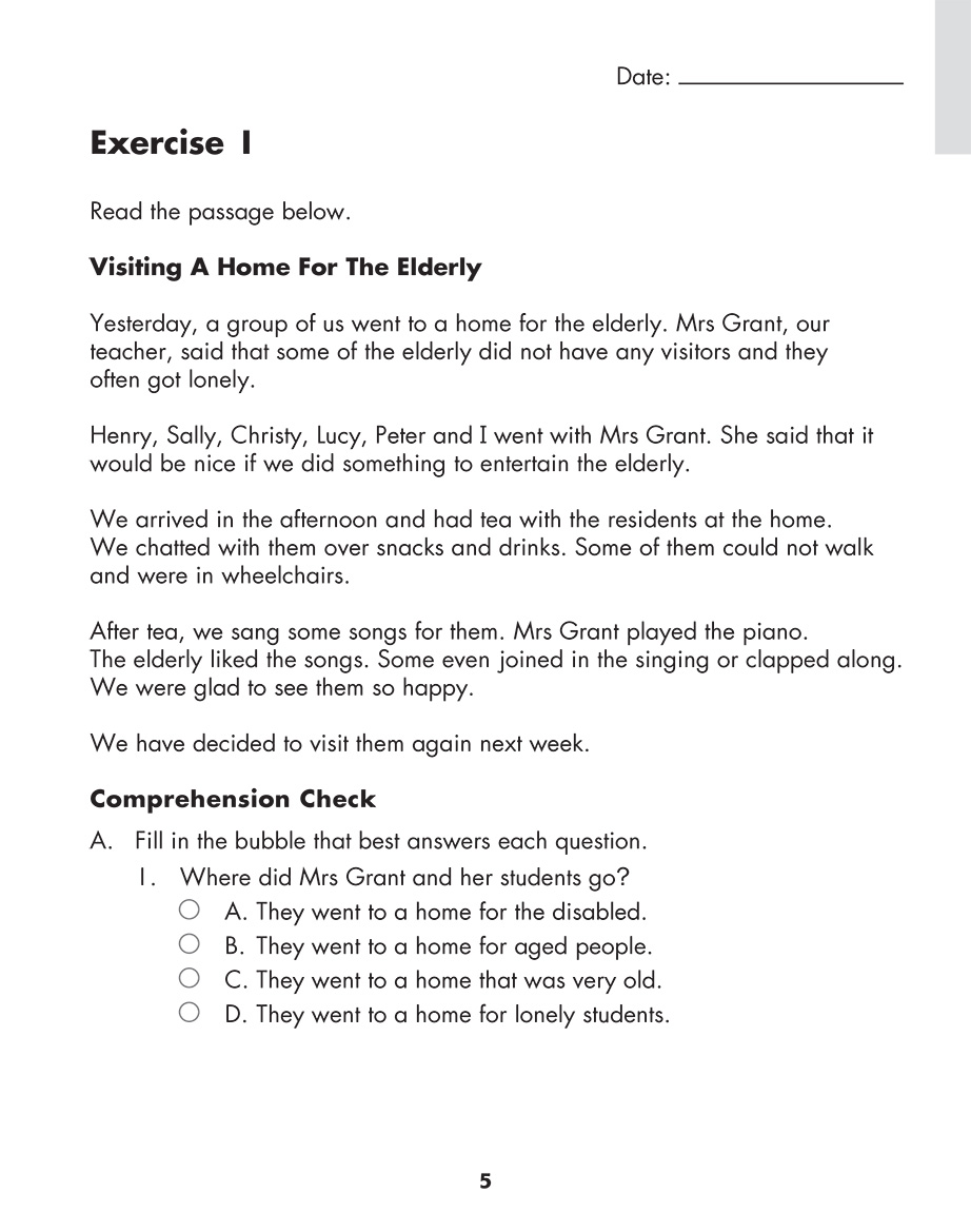 Scholastic Study Smart Comprehension Challenge 3