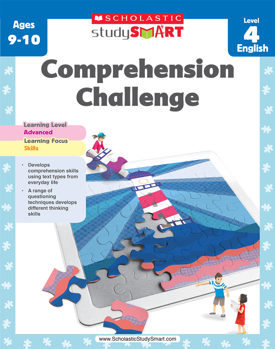 Scholastic Study Smart Comprehension Challenge 4