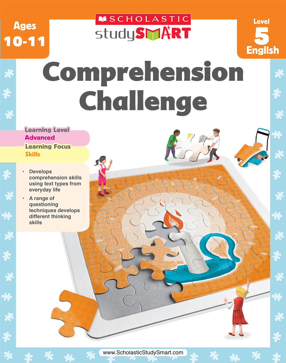 Scholastic Study Smart Comprehension Challenge 5