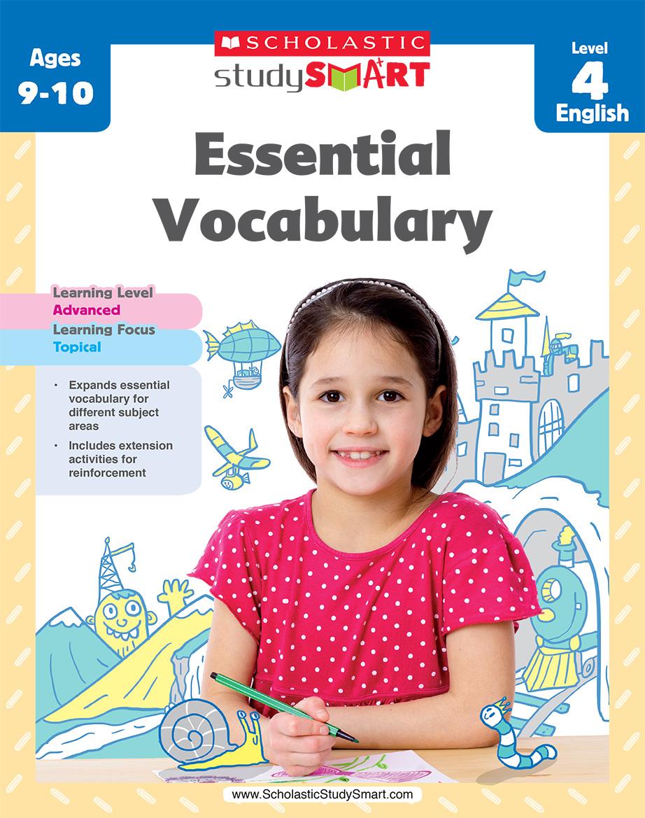 Scholastic Study Smart Essential Vocabulary 4
