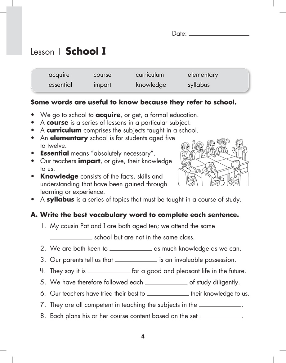 Scholastic Study Smart Essential Vocabulary 5