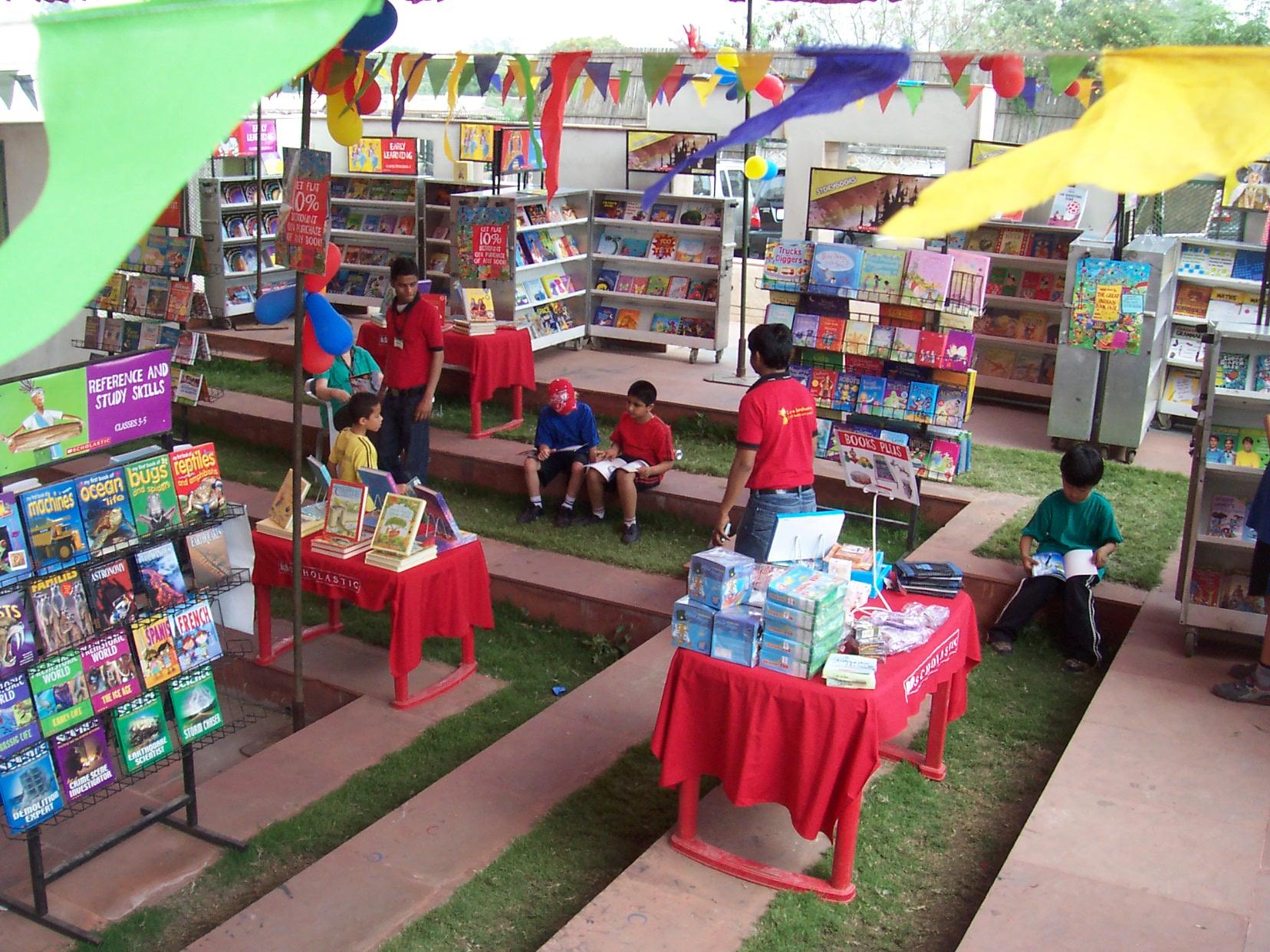 The Scholastic Book Fair Experience India