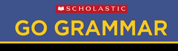 Scholastic Go Grammar Logo