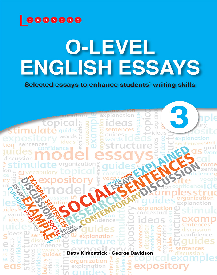 GCE O LEVEL CHALLENGING ENGLISH ESSAYS  Textbooks on Carousell