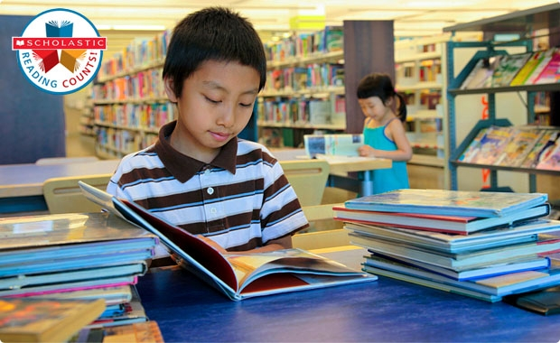 Scholastic Reading Counts!® tracks students' success on the books they read, in and out of school.
