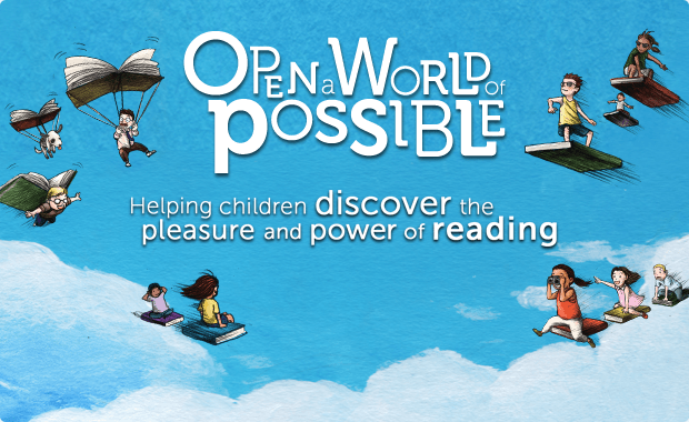 Scholastic Open a World of Possible Banner