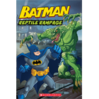 WB Super Classic Readers: Batman Classic: Reptile Rampage (Level 2) Cover