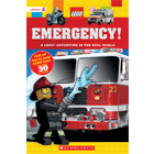 Lego Nonfiction: Adventure in the Real World: Emergency! Cover