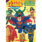 WB Super Classic Readers: Meet the Justice League (Level 2) Cover