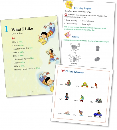 Elementary English - Coursebook features
