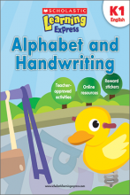 Scholastic Learning Express Alphabet and Handwriting K1