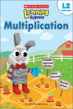 Scholastic Learning Express Multiplication 2