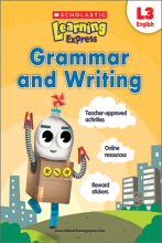 Scholastic Learning Express Grammar and Writing 3