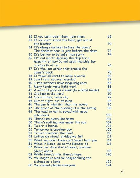 More Proverbs