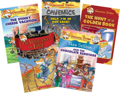 series geronimo stilton
