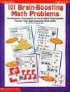 101 Brain Boosting Math Problems (Grades 4-8)
