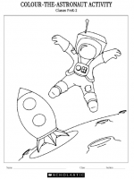 Colour the Astronaut