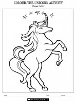 Colour the Unicorn