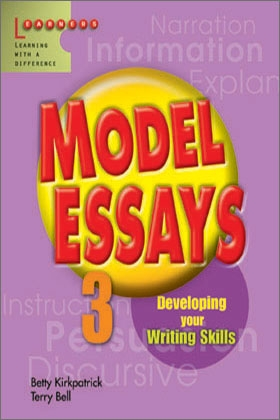 model essays scholastic learners model essays 3