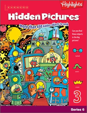 Hidden Pictures Book 3 Series 6