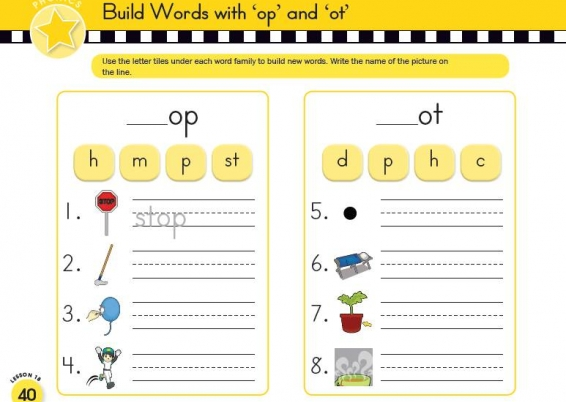20 word families, 20 vowel sound spelling patterns, 16 letter pair, 4 spelling mechanics lessons