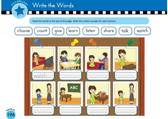 Write the Words with Scholastic Early English