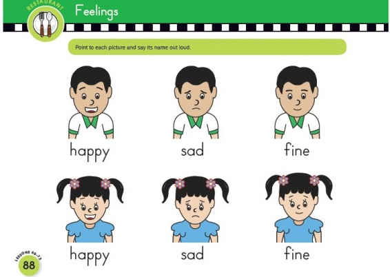 Talk about pictures with Scholastic Early English