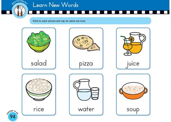 Learn New Words with Scholastic Early English