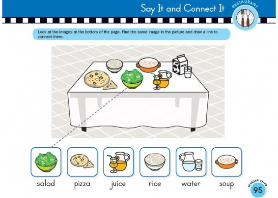 Say it & Connect it with Scholastic Early English!
