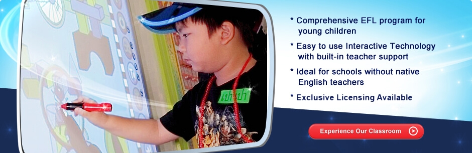 Experience Scholastic Early English's Interactive whiteboard technology