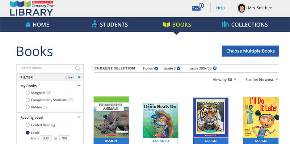 Interactive, Customizable Support - for Teachers
